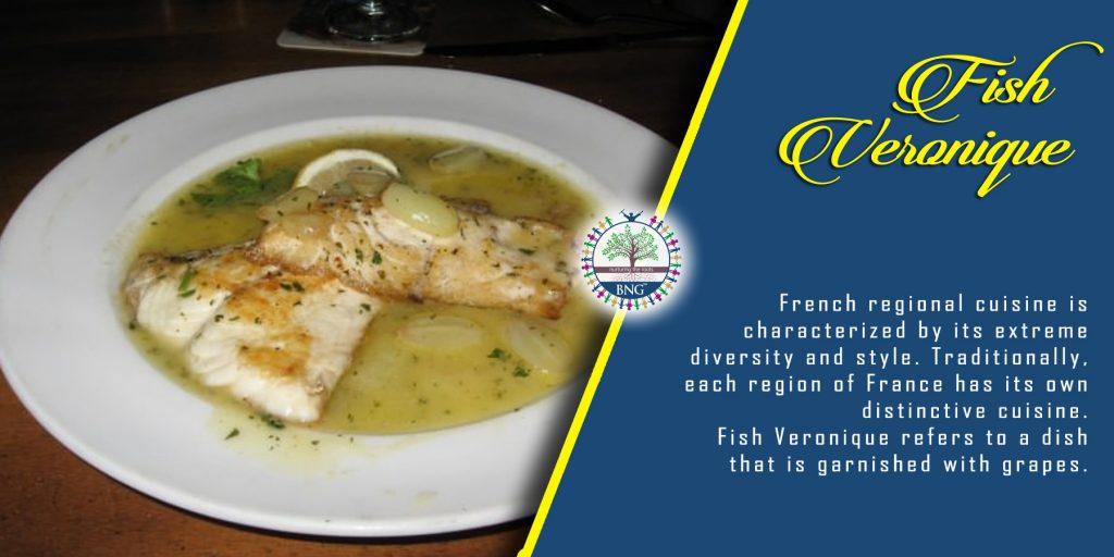 Fish Veronique recipe by BNG Hotel Management Kolkata