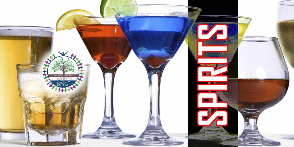 Spirits , Sprit Distillation and alcohol