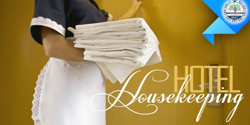 Different types of housekeeping service by BNG Hotel Management Kolkata