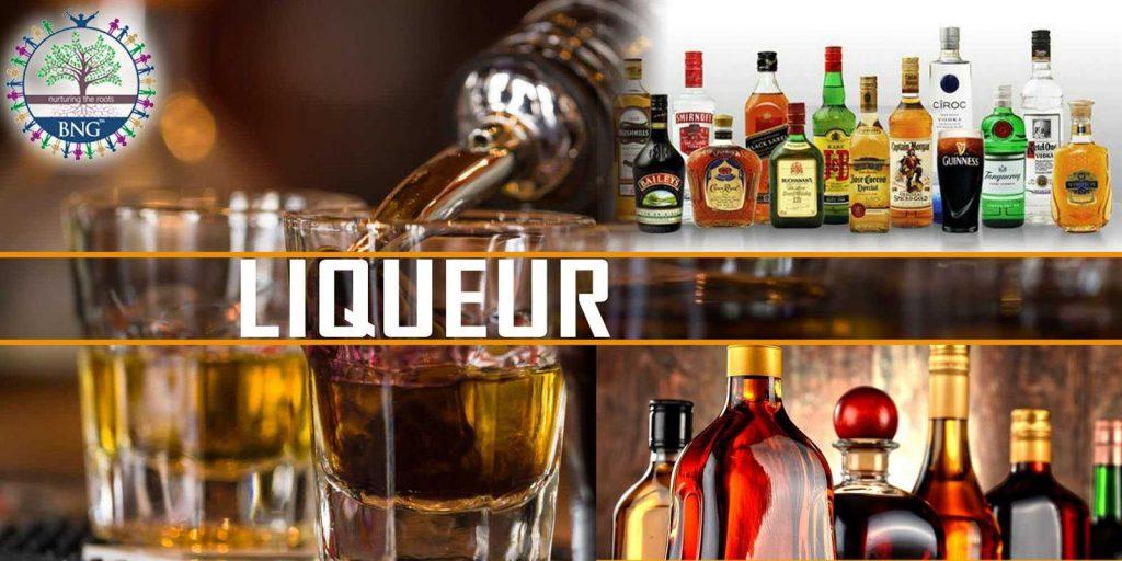 Liqueur and Liqueurs uses history