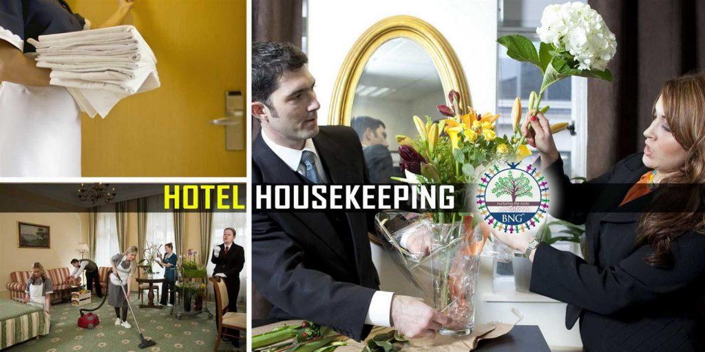 hotel housekeeping and housekeeper
