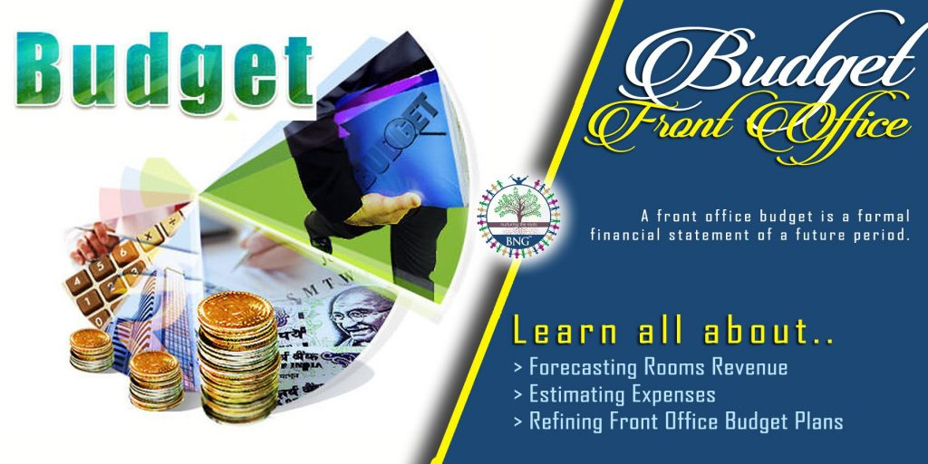 Front Office Budget by BNG Hotel Management Kolkata