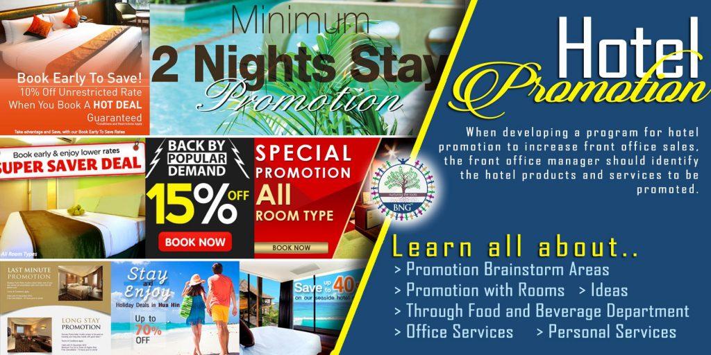 hotel promotion by BNG Hotel Management Kolkata