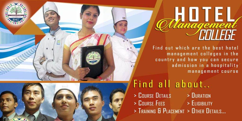 All about Hotel Management College by BNG Hotel Management Kolkata