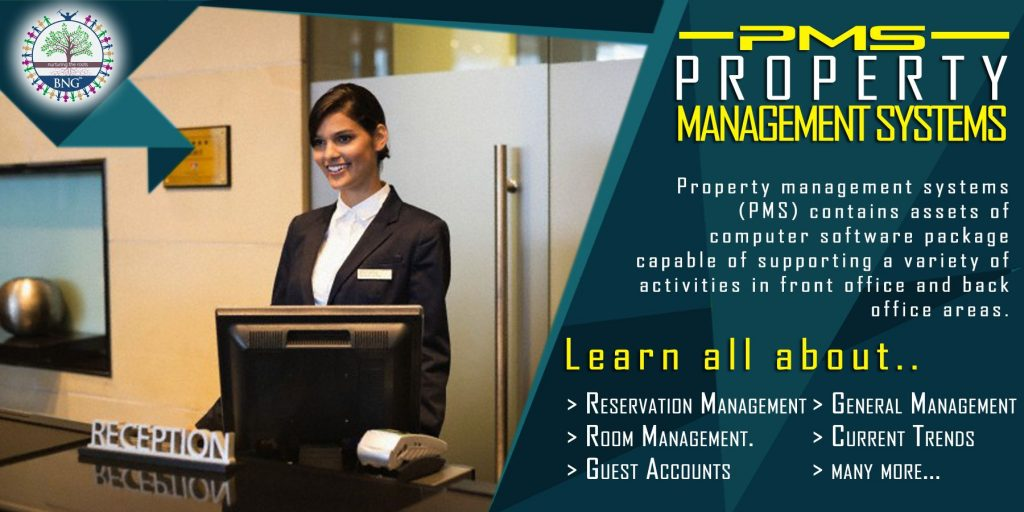 Property Management Systems (PMS) by BNG Hotel Management Kolkata