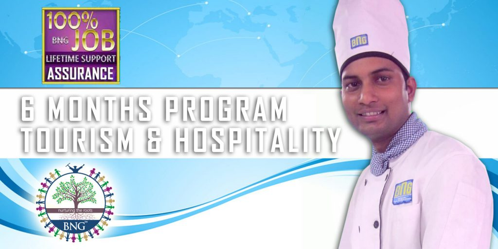 6 Months Program Tourism and Hospitality Diploma in Hotel Operation with job assuarance