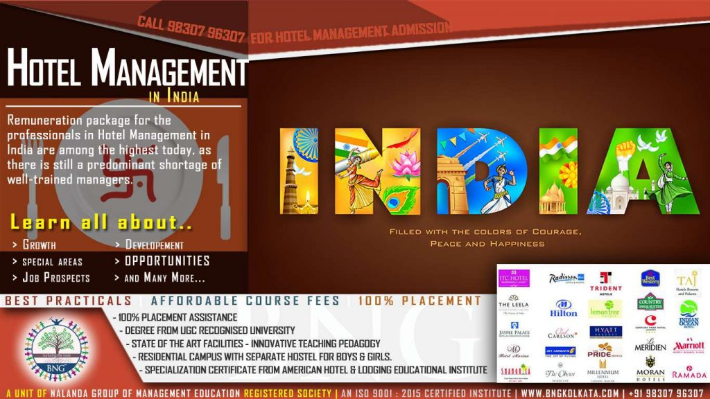 hotel management in india by BNG Hotel Management KOlkata
