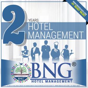 Hotel Management 2 Years Program