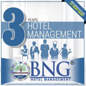 Hotel Management 3 Years Program