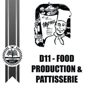 Food Production and Pattisserie basic
