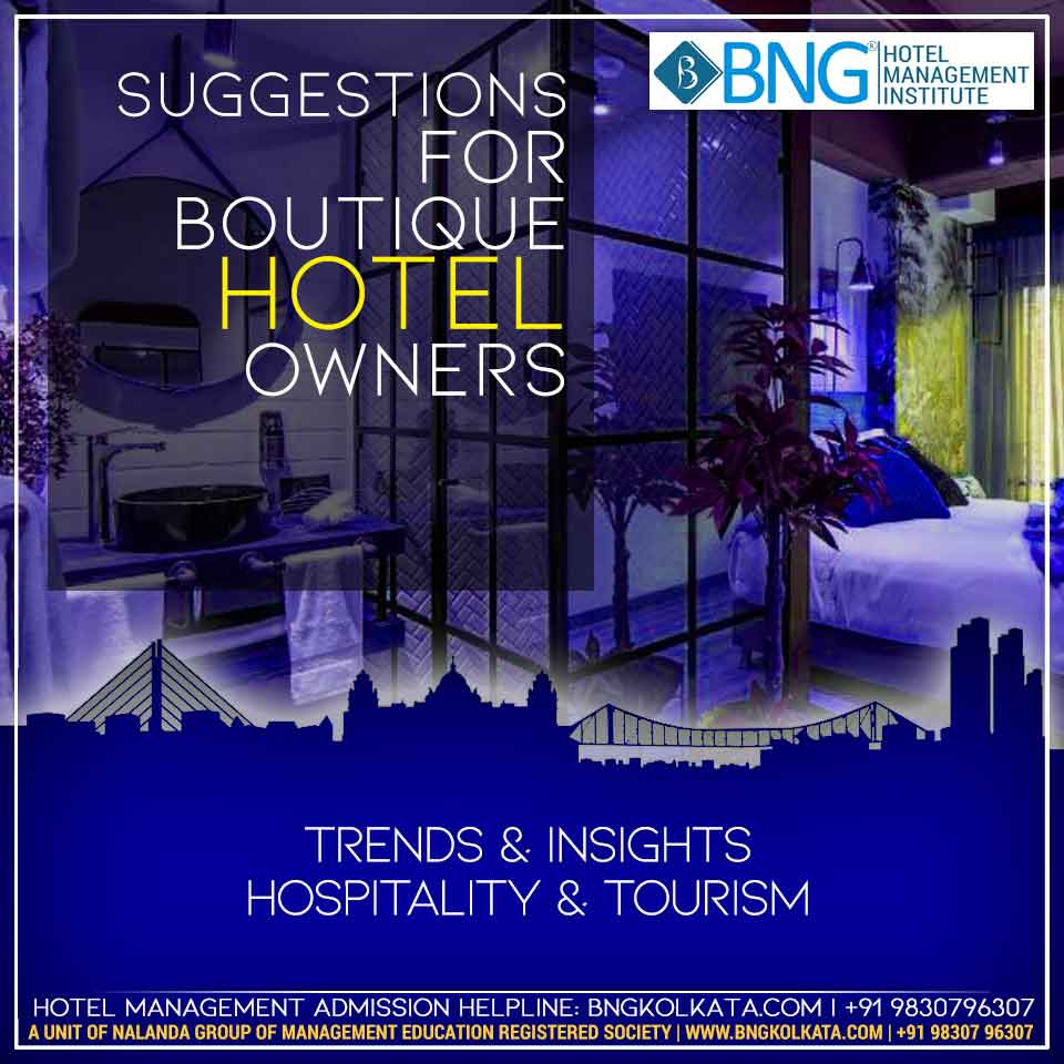 5 suggestions for boutique hotel owners Image