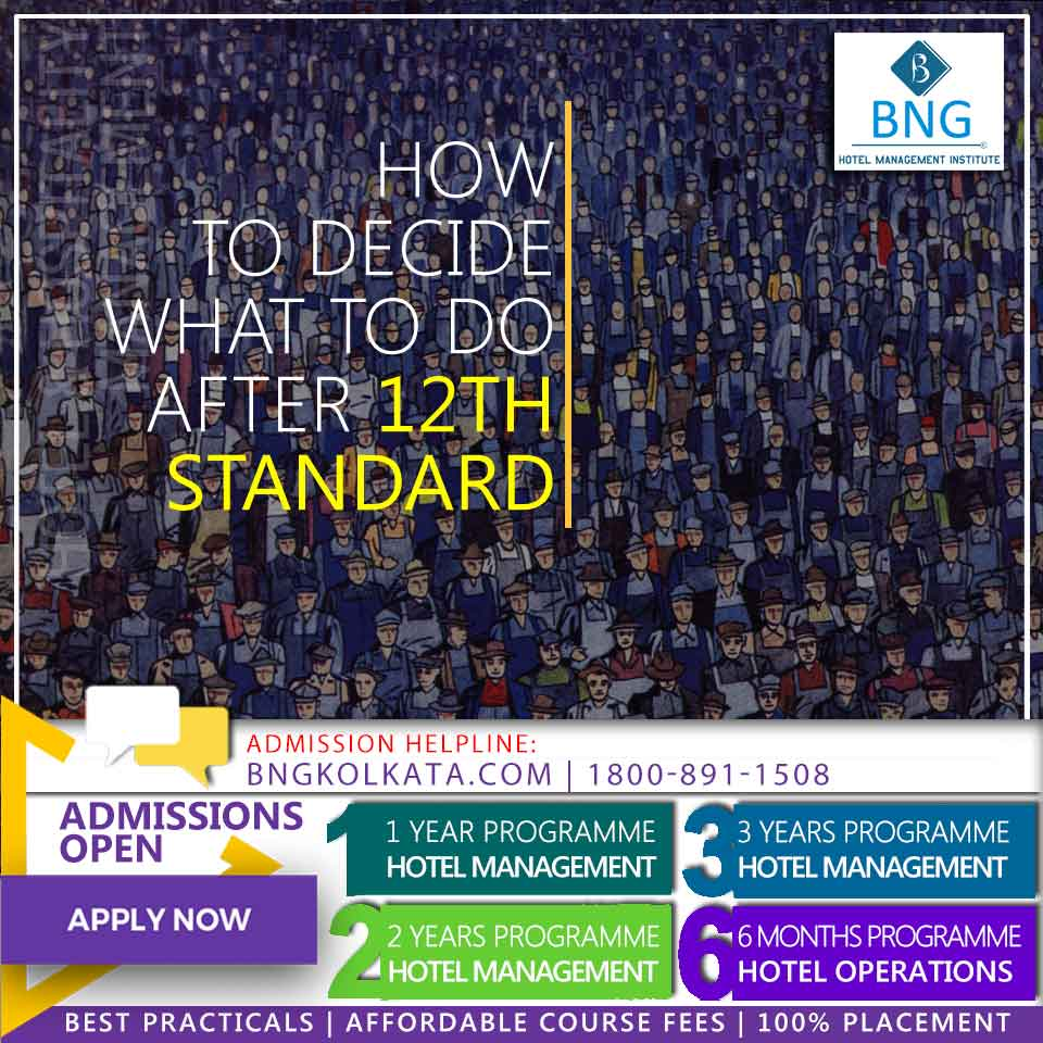 How to decide what to do after 12th Standard